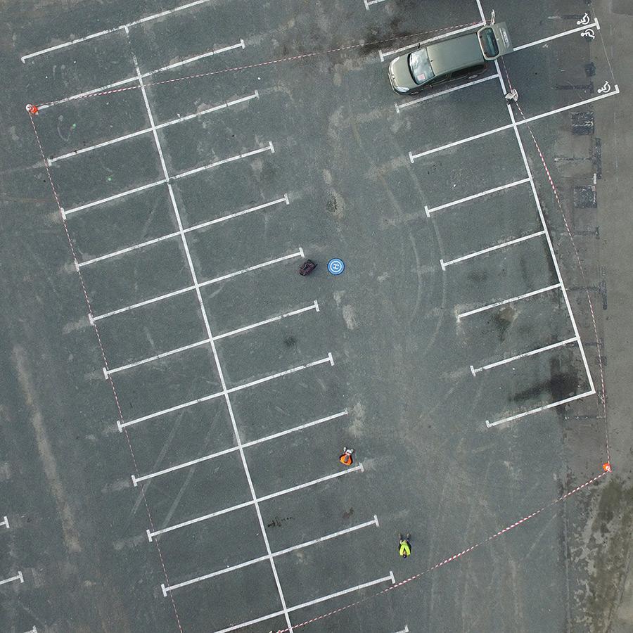 Voirons, prise de vue aérienne par drone - Les Halles de Cholet