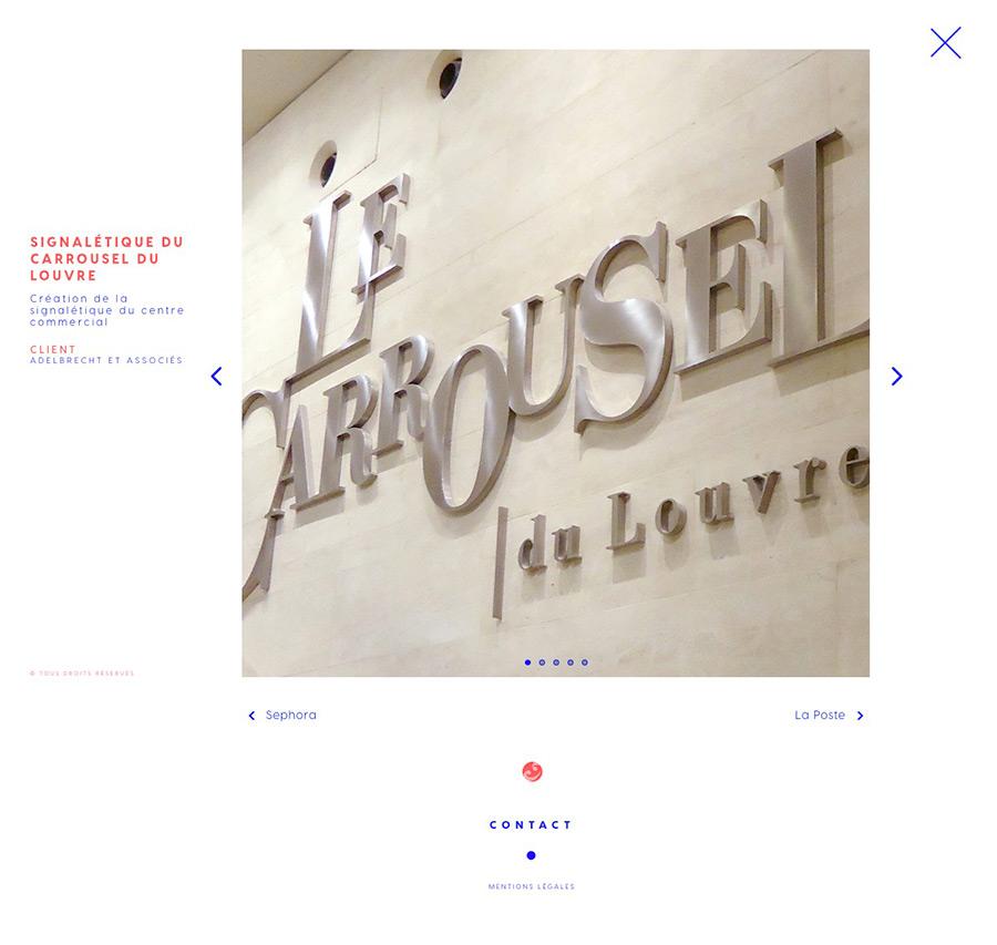 Voirons - développement du site internet Nathetchris.fr