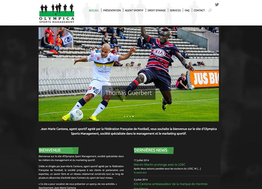 Site internet OlympicaSports.com