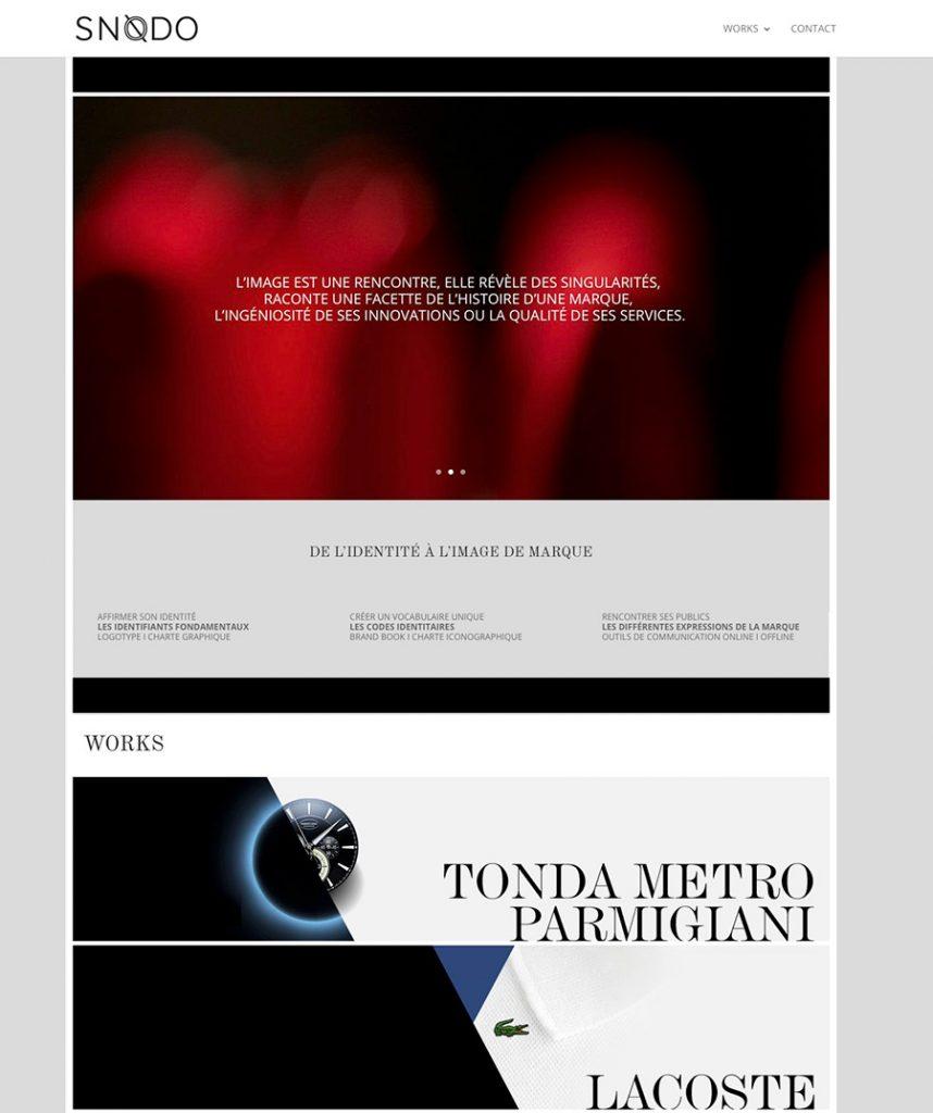 Voirons - studio de création du site internet