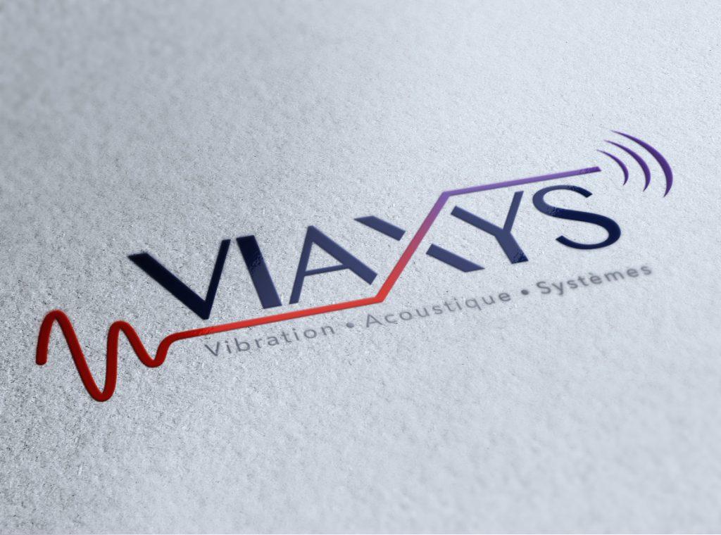 Voirons - Création du logo pour Viaxys